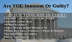 Courthouse Gospel Tracts (Customized/Bulk)