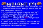 Intelligence Test Gospel Tract #1 <br> (Pack of 100 Tracts)