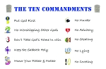 Ten Commandments Gospel Tracts (Customized/Bulk)