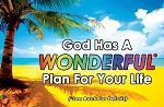 Wonderful Plan Gospel Tracts (Customized/Bulk)