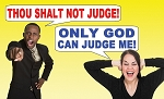 Judge Not Gospel Tract <br> (Pack of 100 Tracts)
