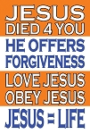 Basic Gospel Sign <br><b>Gospel Sign</b> <br>36