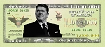 Ronald Reagan Million Dollar Bill Gospel Tracts (Customized/Bulk)