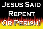 Repent or Perish <br><b>Gospel Sign</b> <br>18