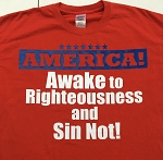 Righteousness Exalts | Gospel Preaching T-Shirt