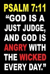 Angry w/The Wicked  <br><b>Gospel Sign</b> <br>36