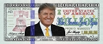 Donald Trump <br> Billion Dollar Bill <br> Gospel Tract <br> (Pack of 100 Tracts)