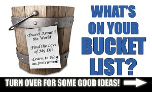 Bucket List Gospel Tract <br> (Pack of 100 Tracts)