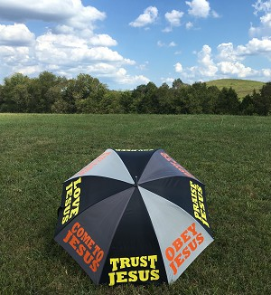 Trust/Obey Jesus | XL Preaching Umbrella
