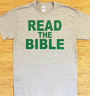 Read/Obey the Bible | Gospel Preaching T-Shirt