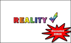Reality Check Gospel Tract <br> (Pack of 100 Tracts) ERROR