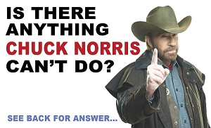 Chuck Norris Gospel Tracts <br> (Customized/Bulk)