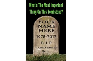 Tombstone/Dash Gospel Tracts (Customized/Bulk)