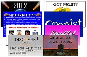 Sample Pack Variety <br> (Pack of 50 Tracts)