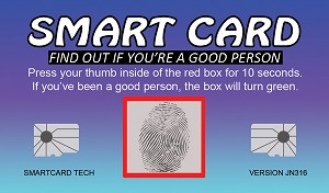 Smart Card Gospel Tract <br> Round Corners <br> (Customized/Bulk)