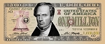 Charles Finney <br> Million Dollar Bill <br> Gospel Tract <br> (Pack of 100 Tracts)