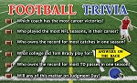 Football Trivia Tracts <br> (Pack of 100 Tracts)