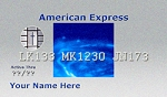American Express Gospel Tracts-Round Corners (Customized/Bulk)