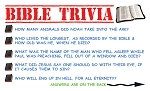 Bible Trivia Gospel Tract <br> (Pack of 100 Tracts)