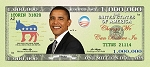 Obama Million Dollar Bill Gospel Tracts (Customized/Bulk)